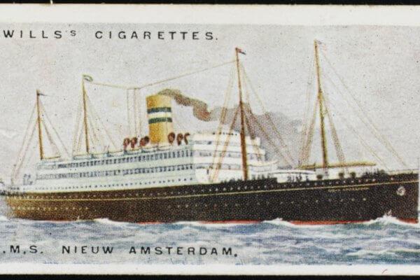 Foto van Nieuw Amsterdam uit 1924