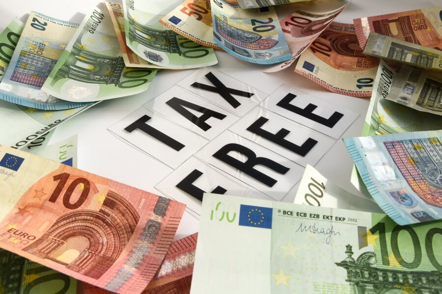 Papiergeld Euros Belasting en Douane Museum Rotterdam