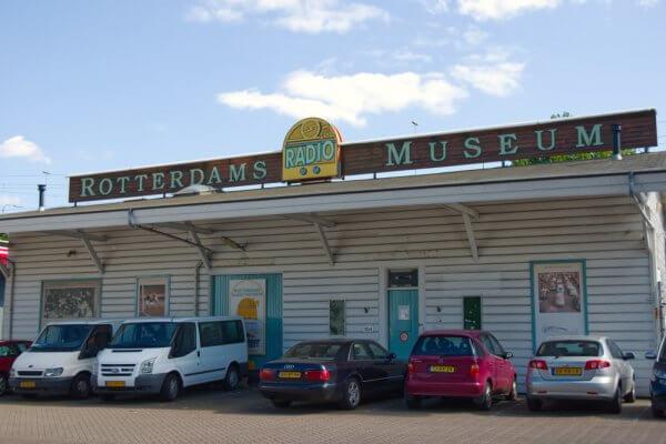 Voormalige gebouw van Rotterdams Radio Museum