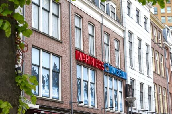 Achterkant Mariniersmuseum Rotterdam