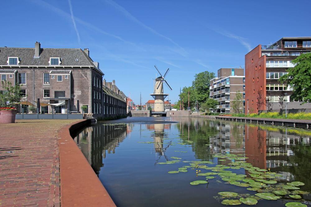 Museummolen in Schiedam De Walvisch