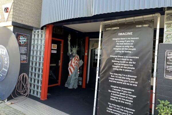 Ingang RockArt Museum Hoek van Holland