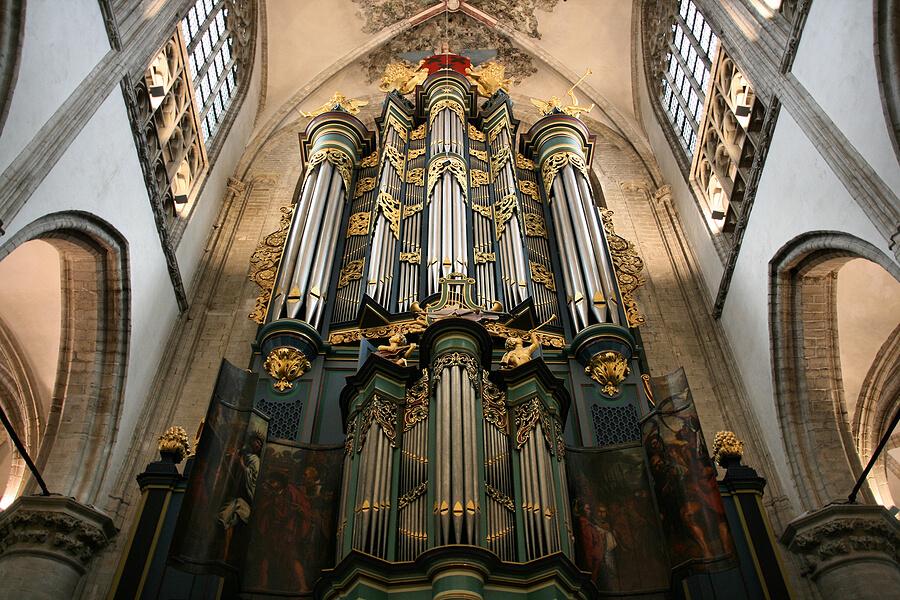 Kerkorgel in Grote Kerk Breda
